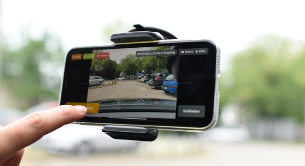 Zustandserfassung-Smartphone